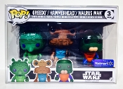 Star Wars Walmart 3 Pack Emperor/Greedo ONLY READ! (1 Protector)