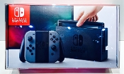 #13 Nintendo Switch Console ORIGINAL SIZE READ!  (1 Protector)