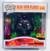 Funko Scar With Flames Box Protector  (Qty 1)